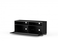 MELICONI MyTVStand 12040H GLASS BLACK, LCD-, LED-, PLASMA TV állvány;?>