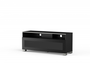 MELICONI MyTVStand 12040H GLASS BLACK, LCD-, LED-, PLASMA TV állvány