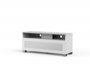 MELICONI MyTVStand 12040H GLASS WHITE, LCD-, LED-, PLASMA TV állvány