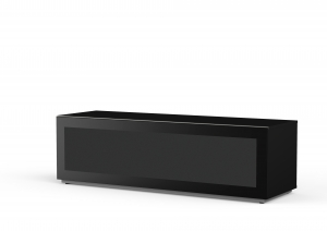 MELICONI MyTVStand 16050F GLASS BLACK, LCD-, LED-, PLASMA TV állvány