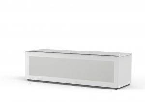MELICONI MyTVStand 16050F GLASS WHITE, LCD-, LED-, PLASMA TV állvány
